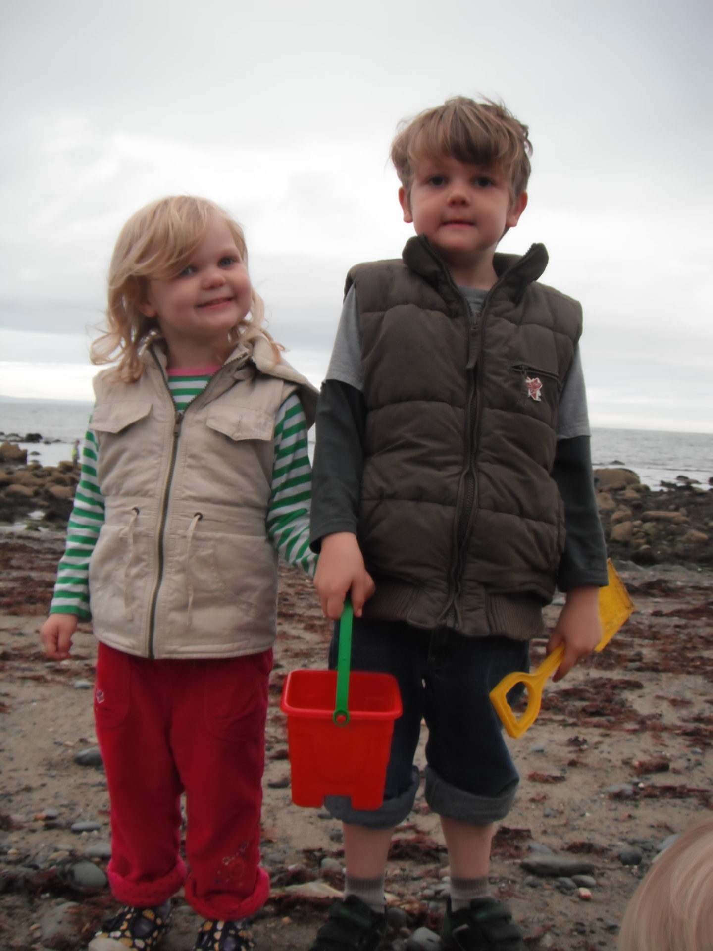 Rockpooling requires very little equipment