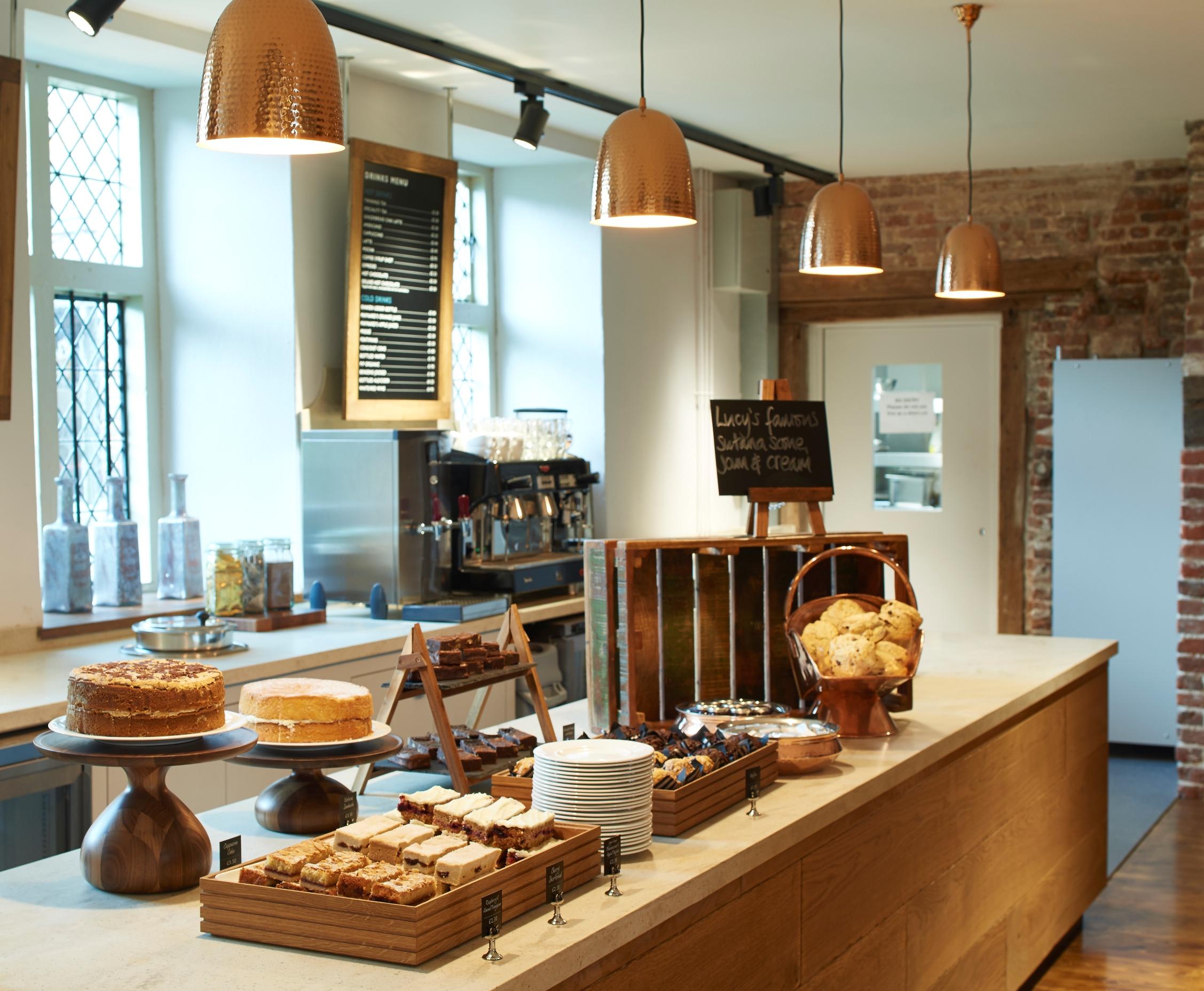 Framlingham Castle new cafe