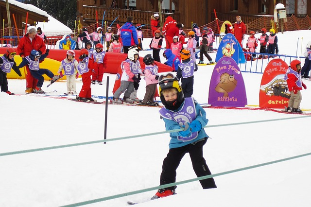 ski trip with children