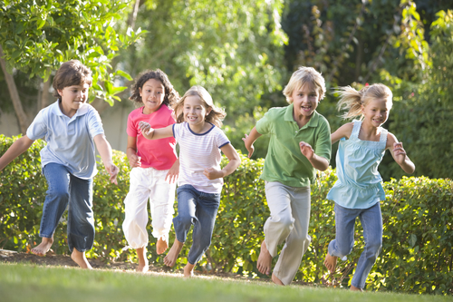 children doing activities to get out and about
