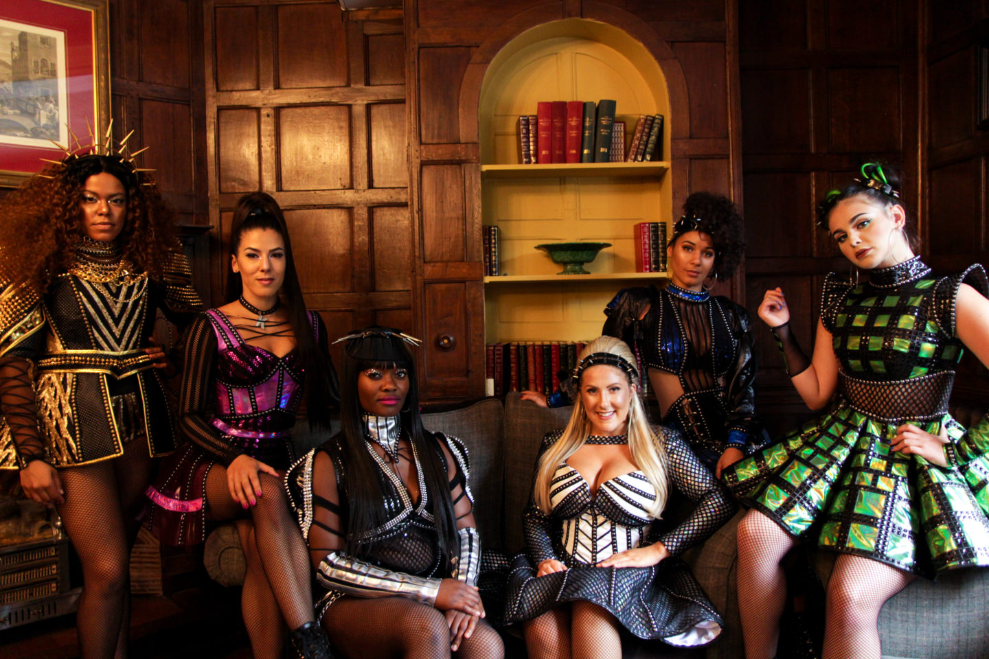 Six The Musical Cast members at a Norwich Hotel