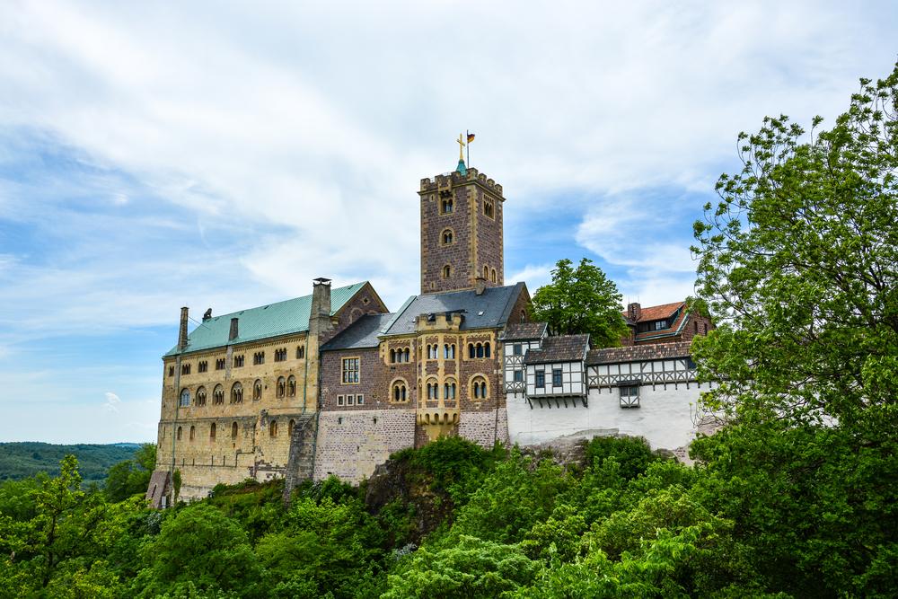 castles to visit in Germany Wartburg Castle