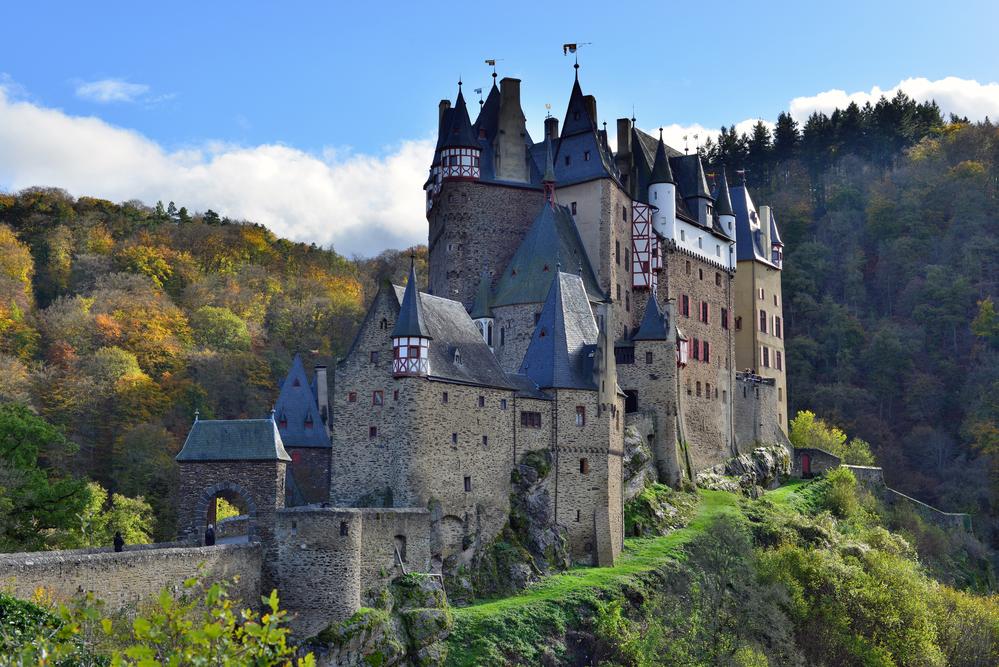 castles to visit in Germany Castle Eltz.
