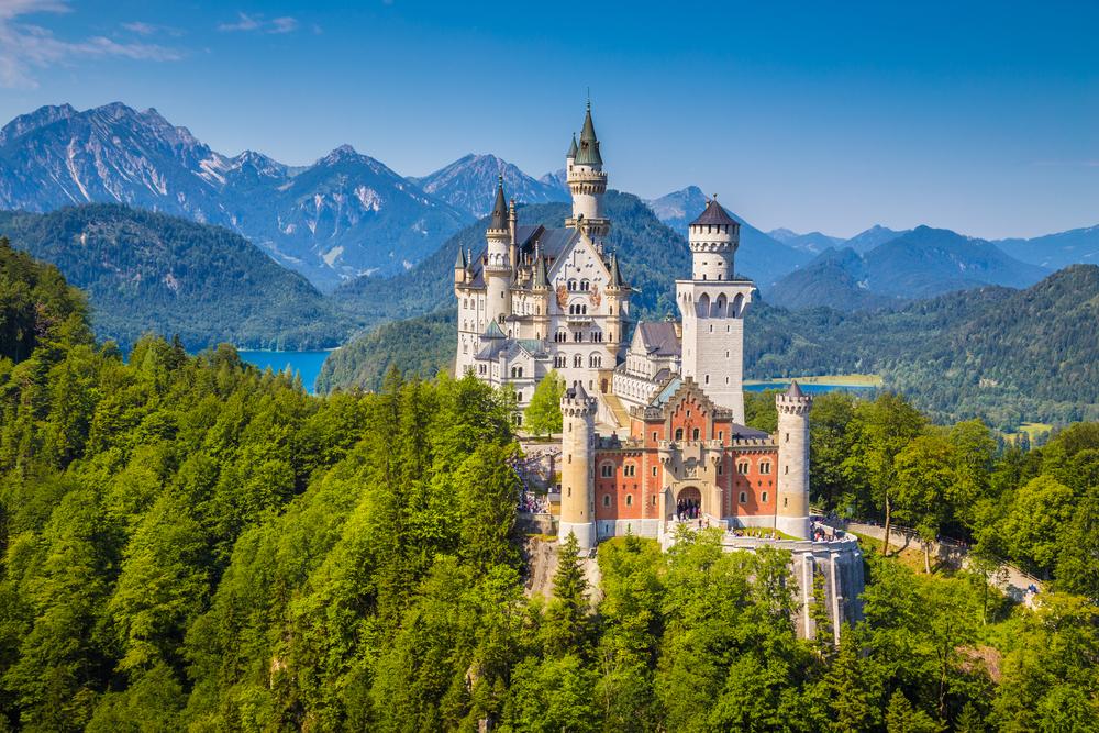 castles to visit in Germany Neuschwanstein Castle