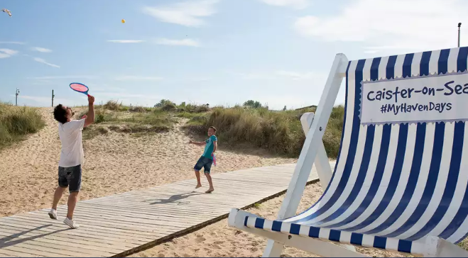 Caister-on-sea Holiday Park one of the holiday parks near Great Yarmouth