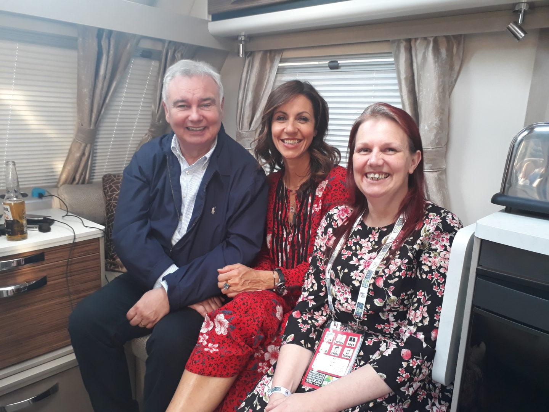 Celebrating National Camping and Caravanning Week with myself, Julia Bradbury and Eamonn Holmes