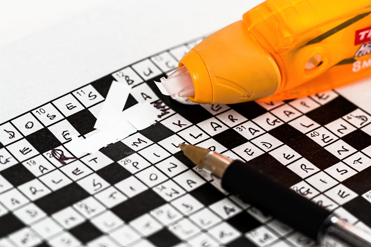 crosswords one of the 5 games to carry while travelling with children