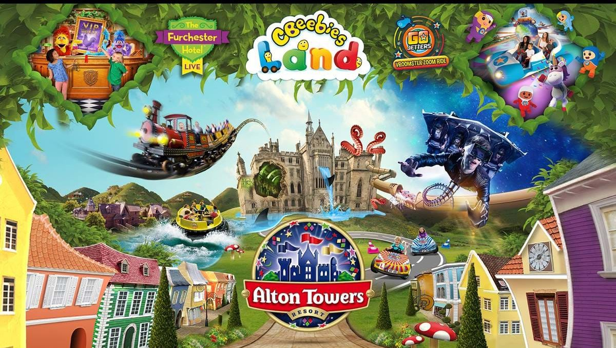 Alton Towers Nearest Hotels To UK Theme Parks