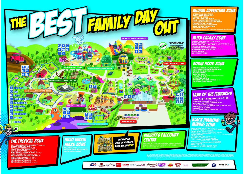 Wheelgate Nearest Hotels To UK Theme Parks