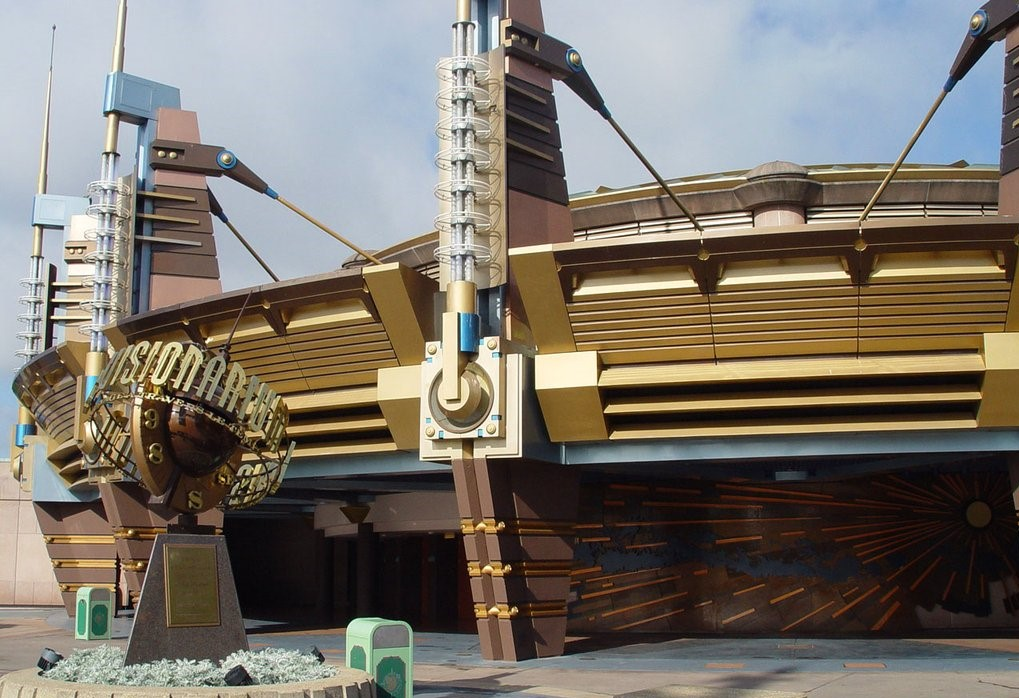 The TimeKeeper extinct Disneyland Paris attractions
