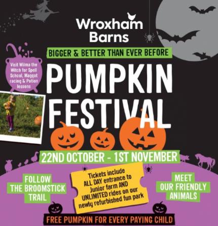 Norfolk Pumpkin Patches Wroxham Barns