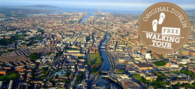 Free tour of Dublin