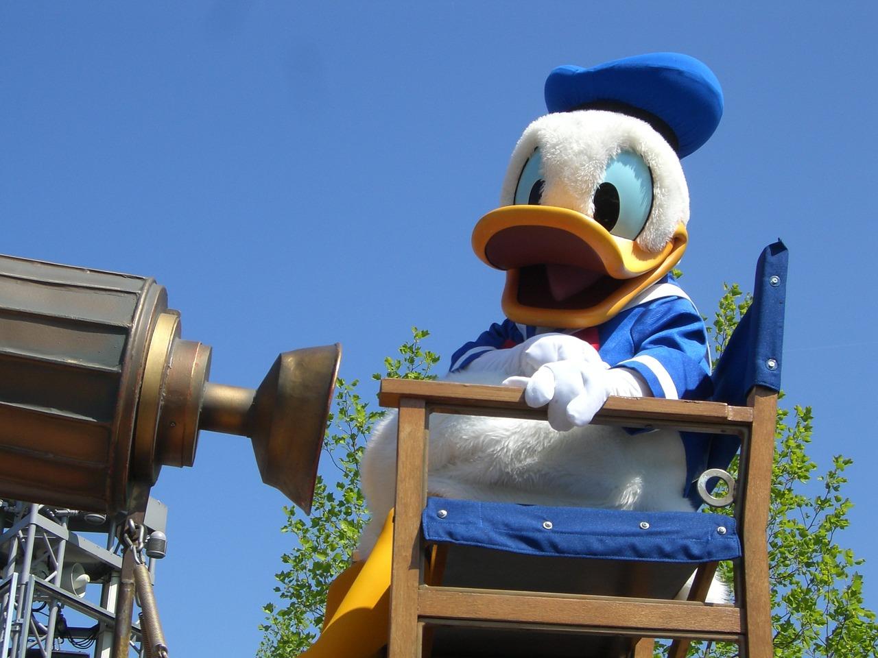 Disney Characters Donald Duck