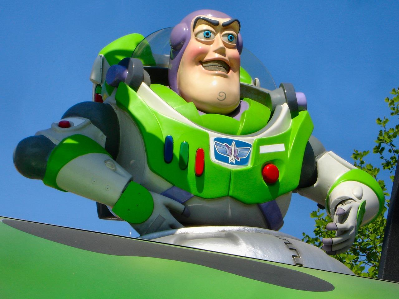 Disney Characters Buzz Lightyear