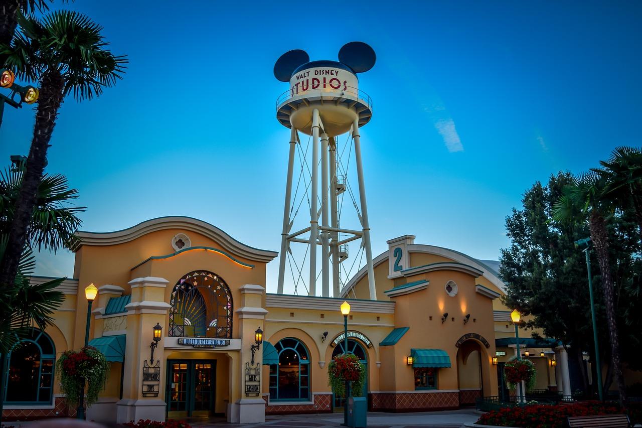 Disney Characters at Walt Disney Studios