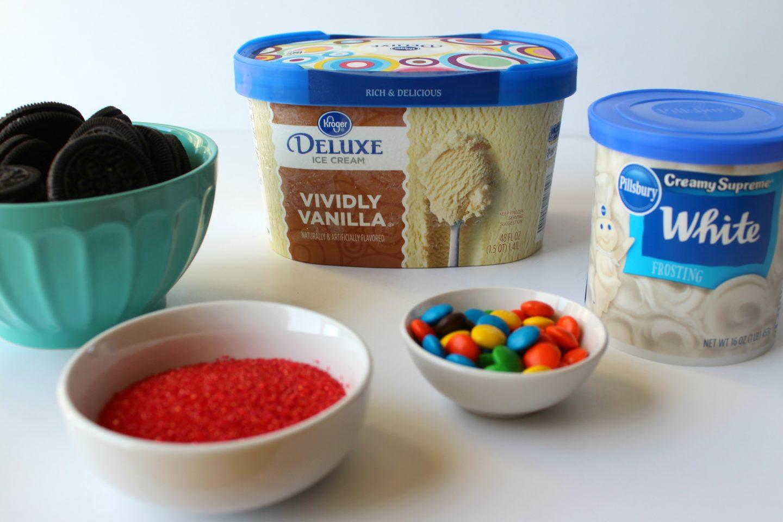 Mickey Cookie and Cream Milkshake