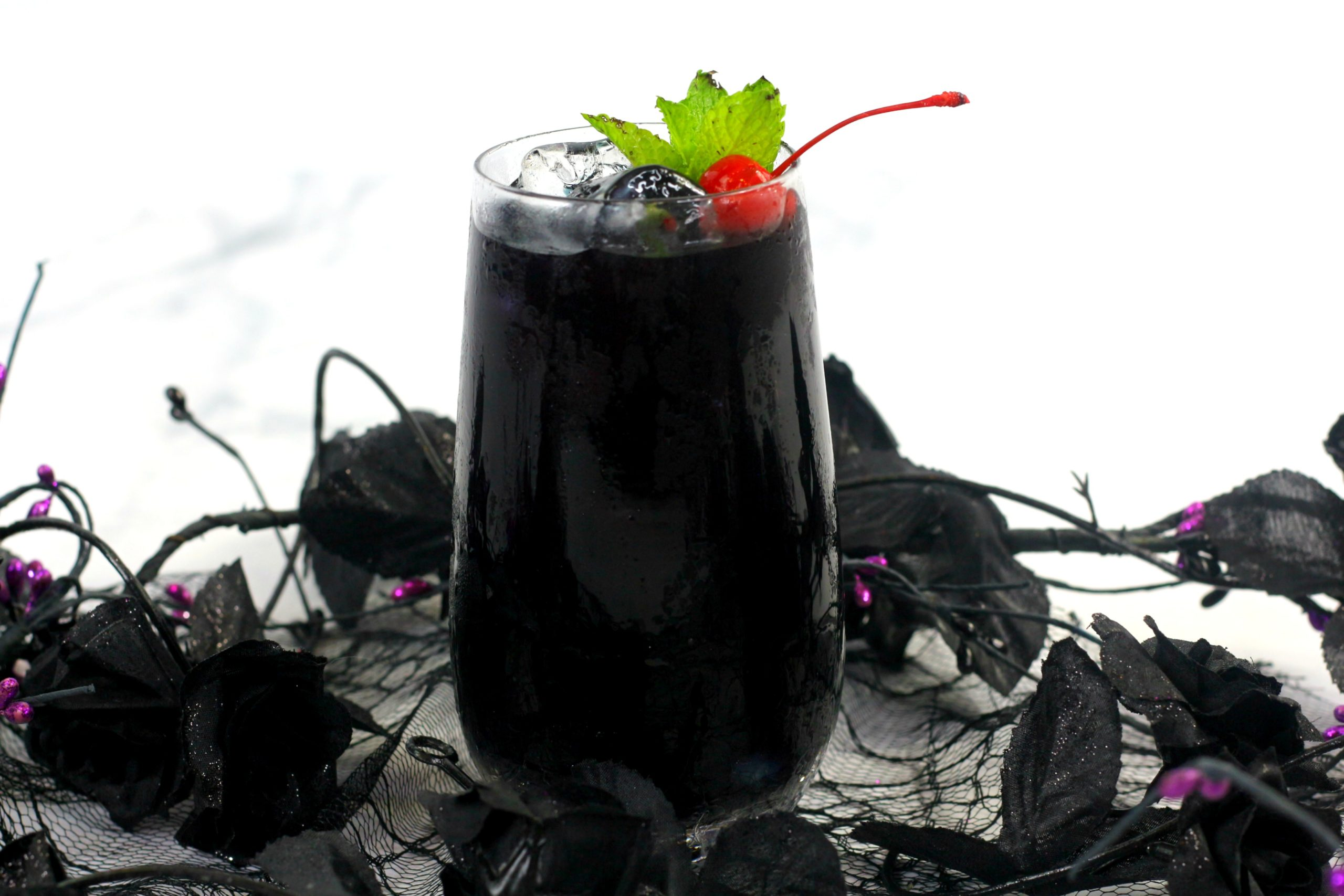 Maleficent Raven Cocktail