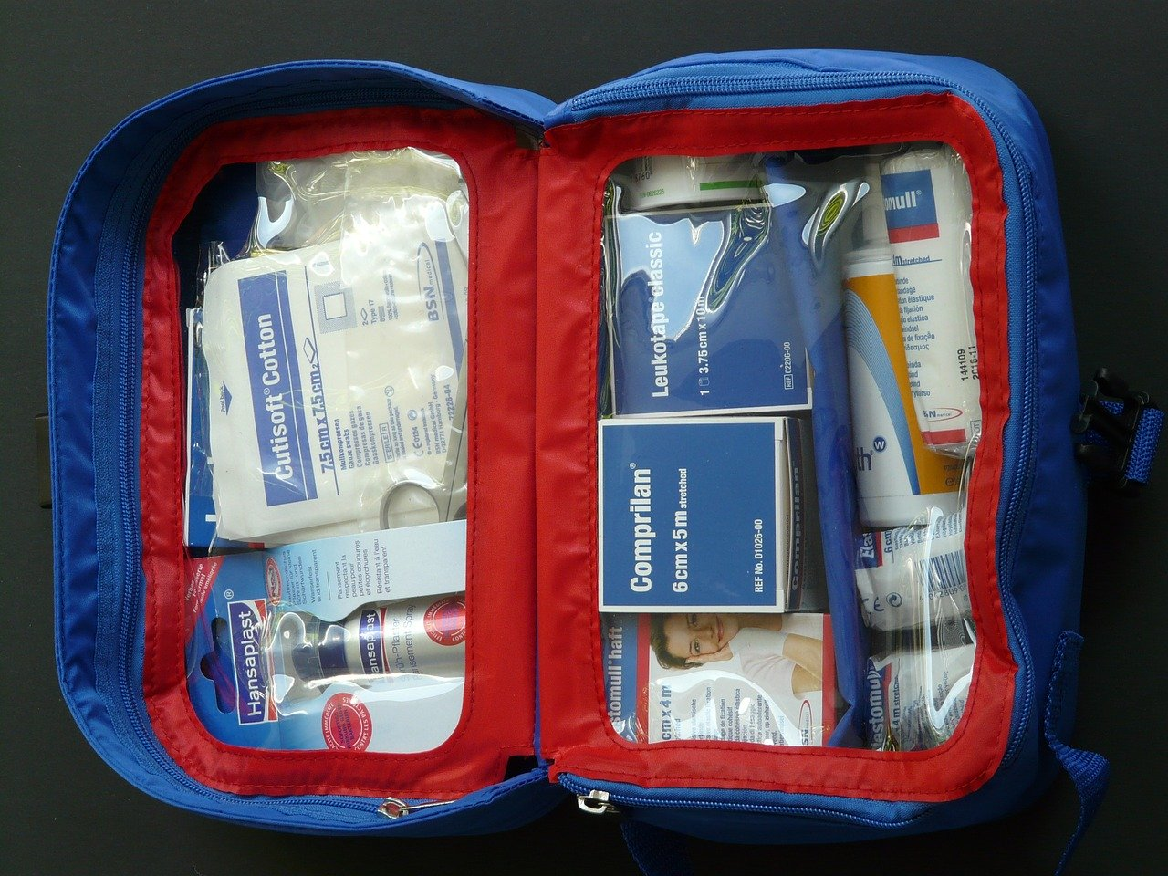 first aid kit for family camping trip