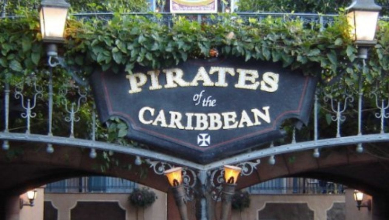 Top Disneyland Attractions Pirates of the Caribbean