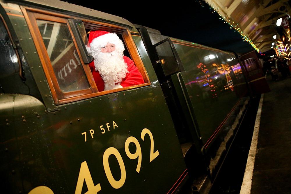 Santa Train East Lancashire railway