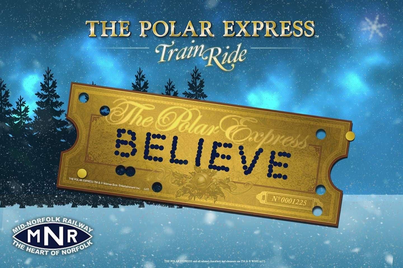 Polar Express Train Ride - Mid Norfolk Railway