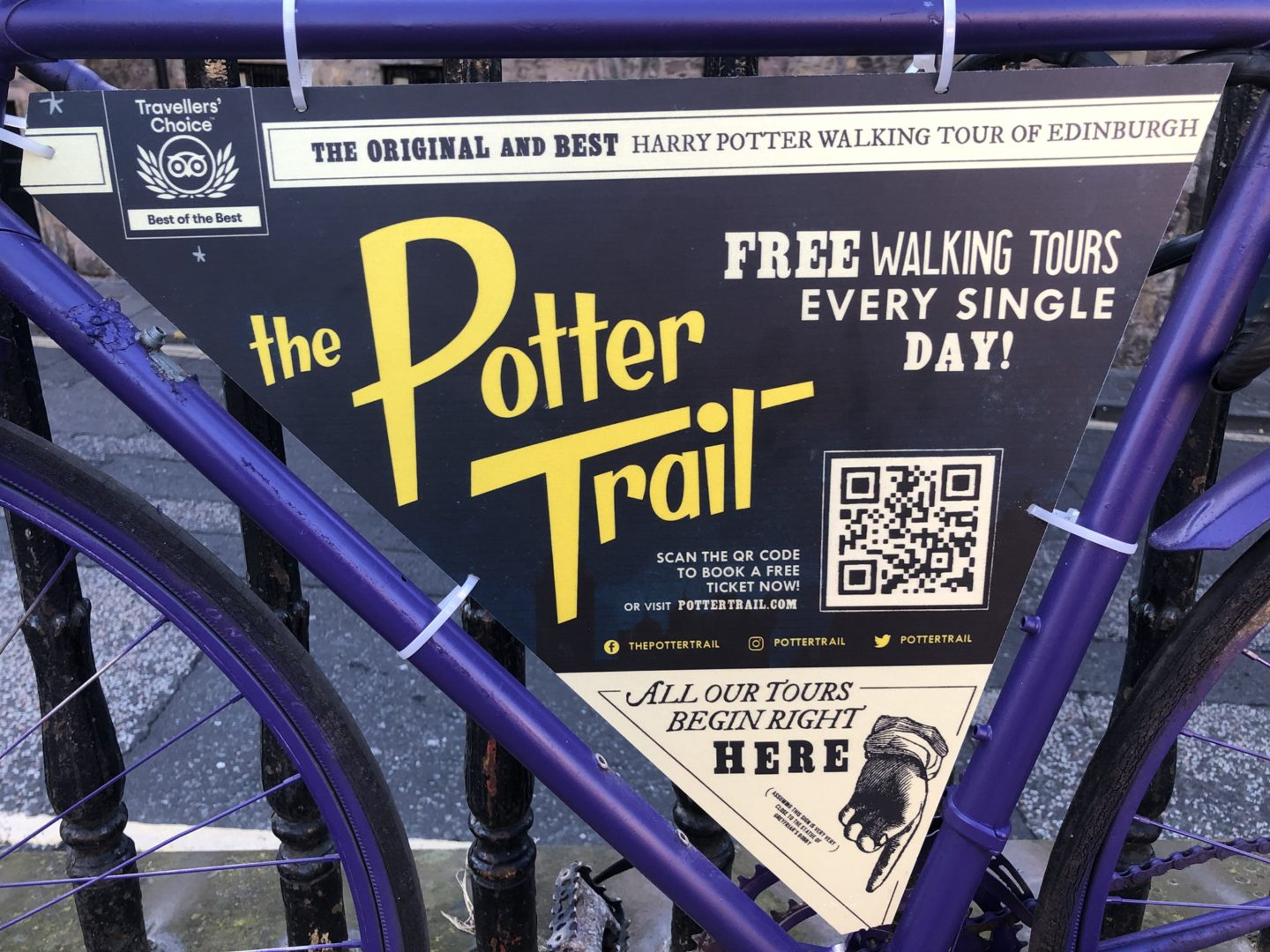 Things To Do in Edinburgh with Kids - The Potter Trail