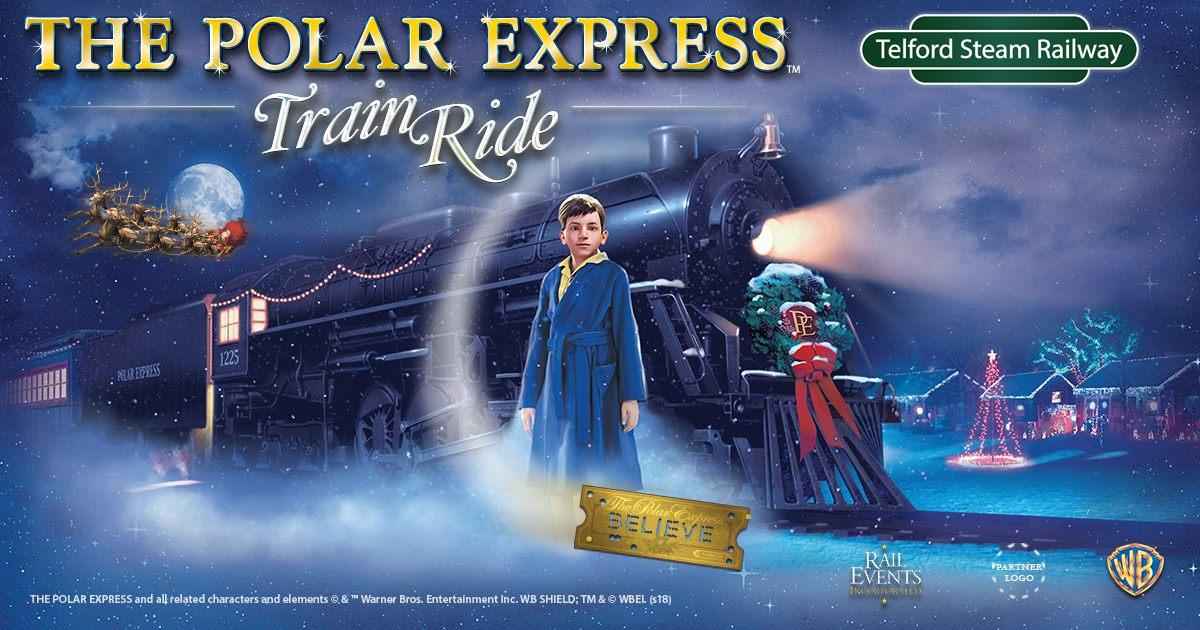 Polar Express Train Ride - Telford Steam Railway