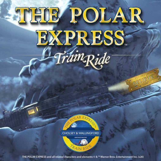Polar Express Train Ride - Cholsey and Wallingford Railway