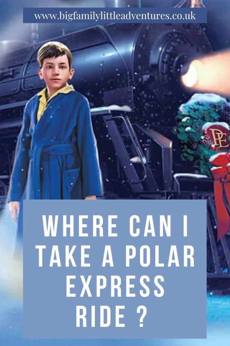 Polar Express Train Rides in UK