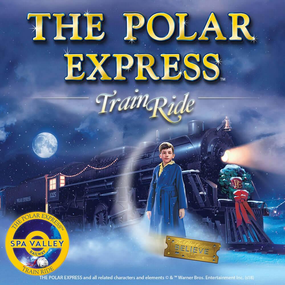 Polar Express Train Ride - Spa Valley Railway